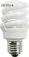 TCP Energiesparlampe Spirale 11W E27