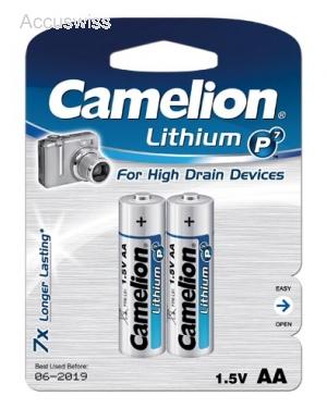 camelion aa lithium batterien 2er pack mignon aa lr6 akku und batterien online shop auch. Black Bedroom Furniture Sets. Home Design Ideas