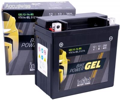 gel motorradbatterie intact din 51214 ctx14 bs 12v 12ah. Black Bedroom Furniture Sets. Home Design Ideas
