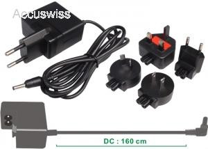 AC Power Adapter for Panasonic DMW-AC7 Lumix DMC-FZ28 DMC-FZ20 DMCFZ30 DMC-FZ4