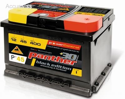 Autobatterie Panther P 45 536 46 536 53 536 54 B13 45ah Akku Und