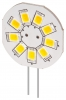 LED-Chip G4 Sockel mit 9 LEDs in Warm Weiss