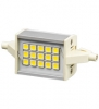 LED Lampe R7s 78mm mit 15 LEDs, Ambient Weiss