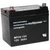 Multipower MP34-12C Bleiakku Zyklenfest, 12V 34Ah M6