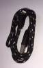 Nylon USB Lightning Ladekabel - Datenkabel Schwarz