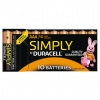 Duracell MN2400 Simply AAA, LR03 10er Packung