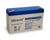 Ultracell UL12-6 6V 12Ah Bleiakku 4.8mm Faston